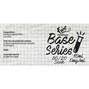 Fuel Base Series 80%VG 20%Eau - 250ml