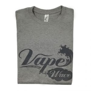 T-Shirt Vape Wave Gris