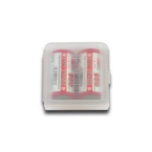 Boîte de rangement pour accus 18350