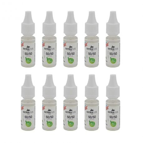 Pack de 10 Boosters Extrapure Sans Nicotine