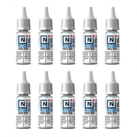 Pack de 10 Boosters Sels de Nicotine Extrapure