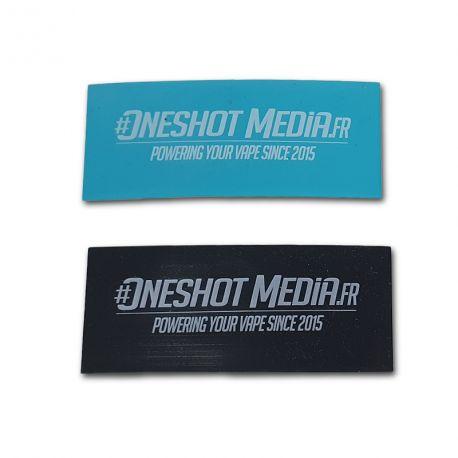 Wraps OneShot Media pour accu 18650 (par 2)