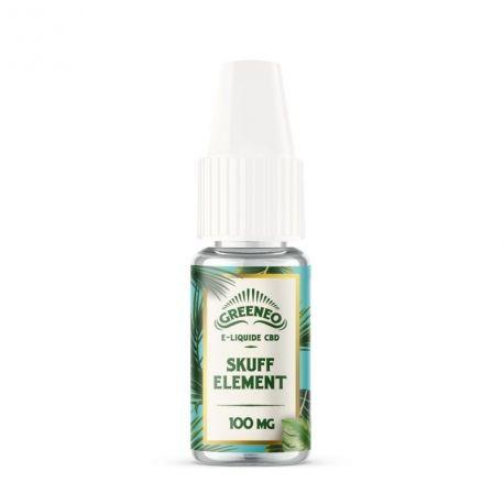 E-liquide CBD Skuff Element Greeneo