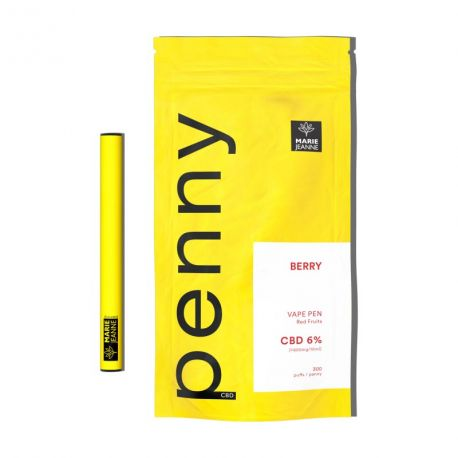 Pod CBD Vape Pen Penny Berry