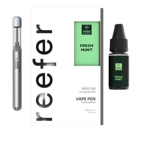 Pod CBD Vape Pen Reefer Fresh Mint