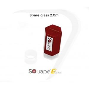 Tank verre de remplacement 2.0ml pour SQuape E[motion] et SQuape X[s]