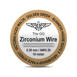 Fil résistif Zirconium Golden Greek (10m)
