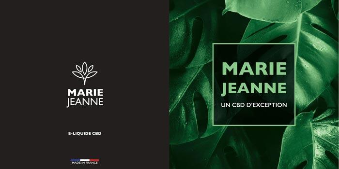 E-liquides CBD Marie Jeanne