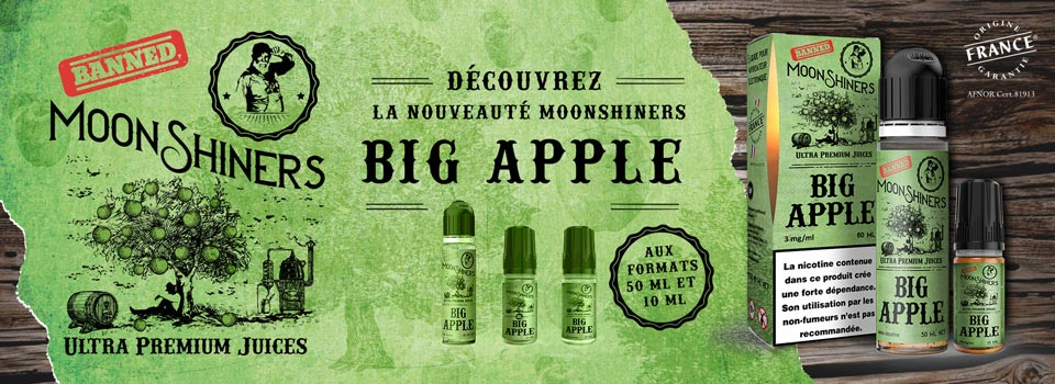 E-liquide Old Nuts Moonshiners