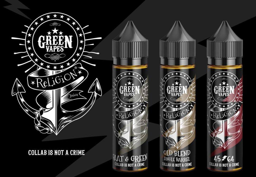 E-liquide Green Religion