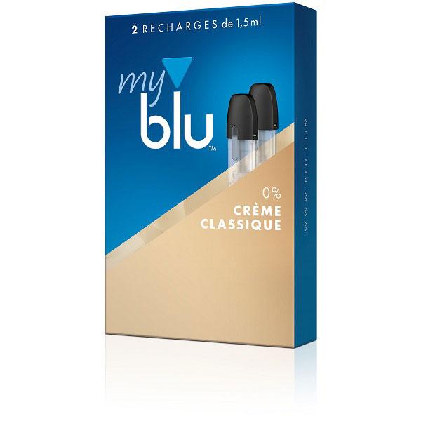 Capsules MyBlu Crème Classique
