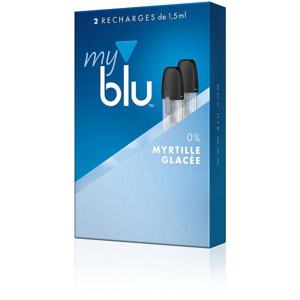 Capsules MyBlu Myrtille Glacée