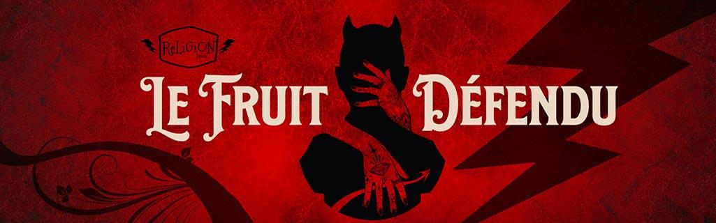 E-liquide Le Fruit Défendu Religion Juice