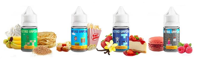 E-liquide Retro Vaping