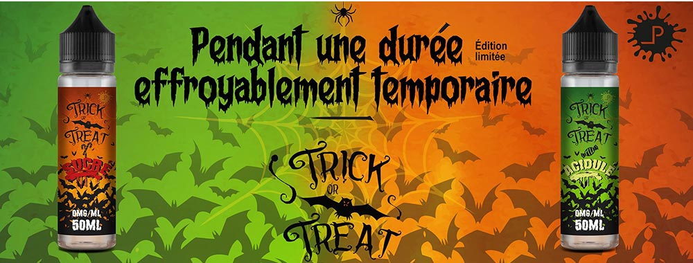 E-liquide Trick Or Treat
